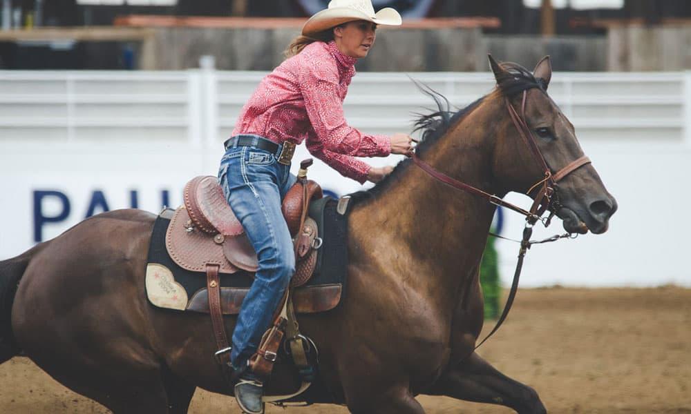 """""""Cowgirl Magazine"""" - Saddle Pad"""