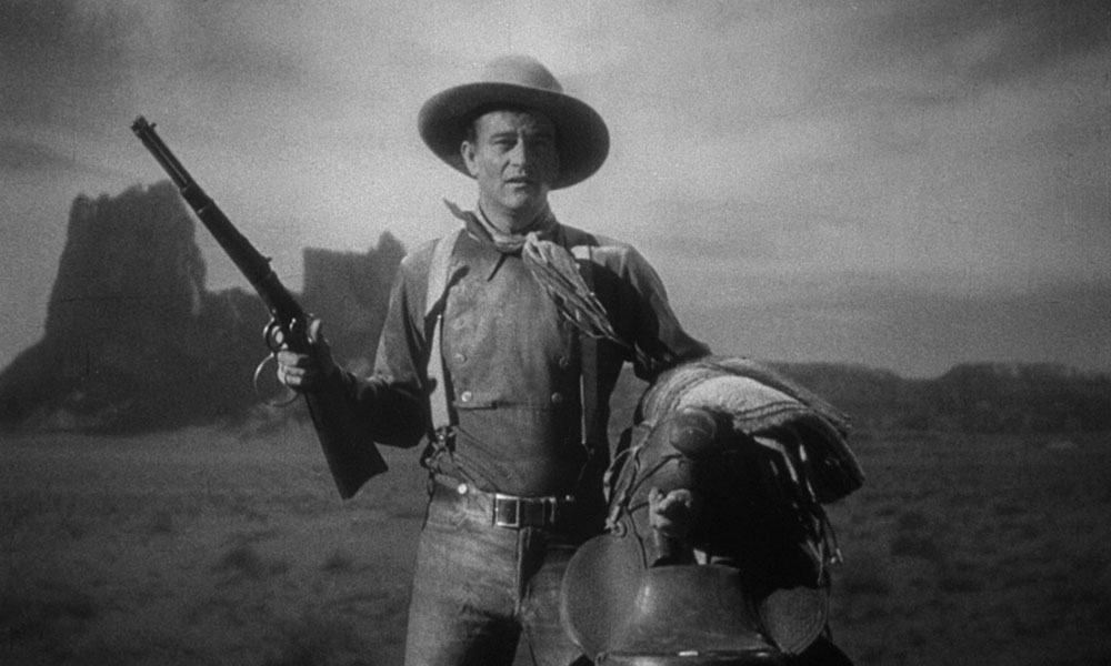 On Screen Cowboy John Wayne Cowgirl Magazine