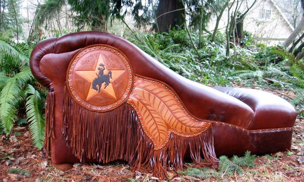 Ernie Apodaca Transforms The World Of, Cowhide Western Furniture Facebook