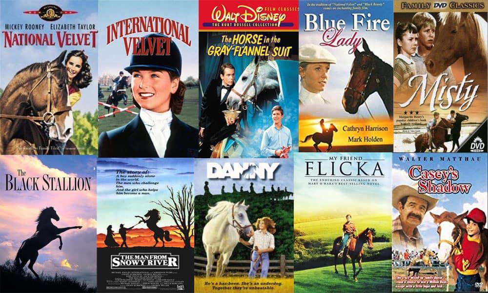 Horse Movies Past Decades