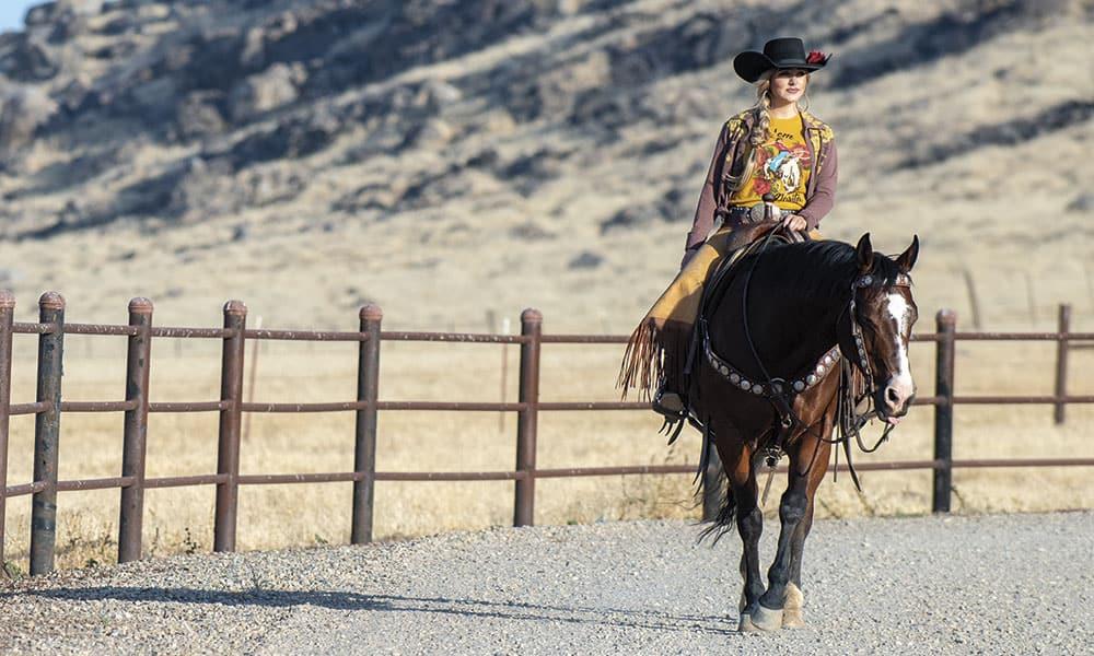 Quincy Freeman Cowgirl Magazine