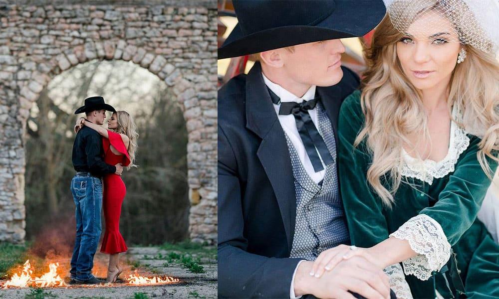 cowboy love story Tuf Cooper Tiffany fashion posse cowgirl magazine