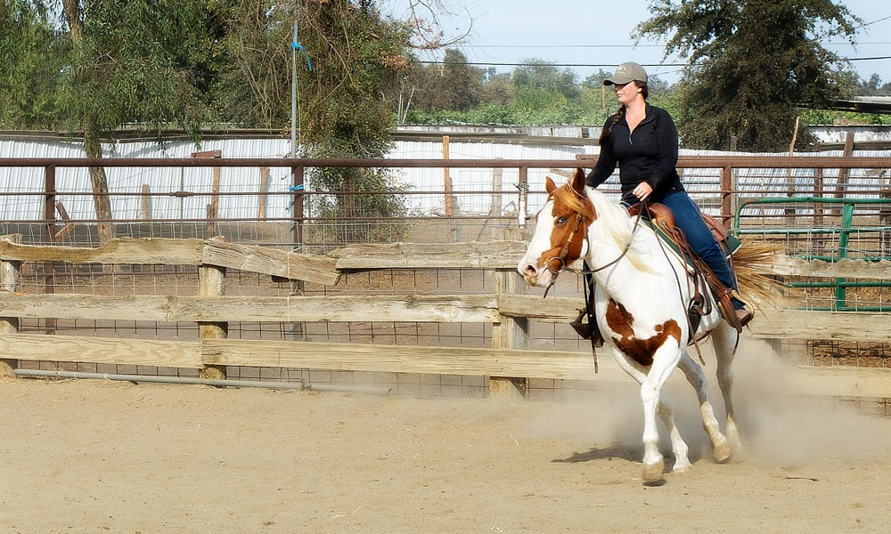 Fear Loping cowgirl magazine horses