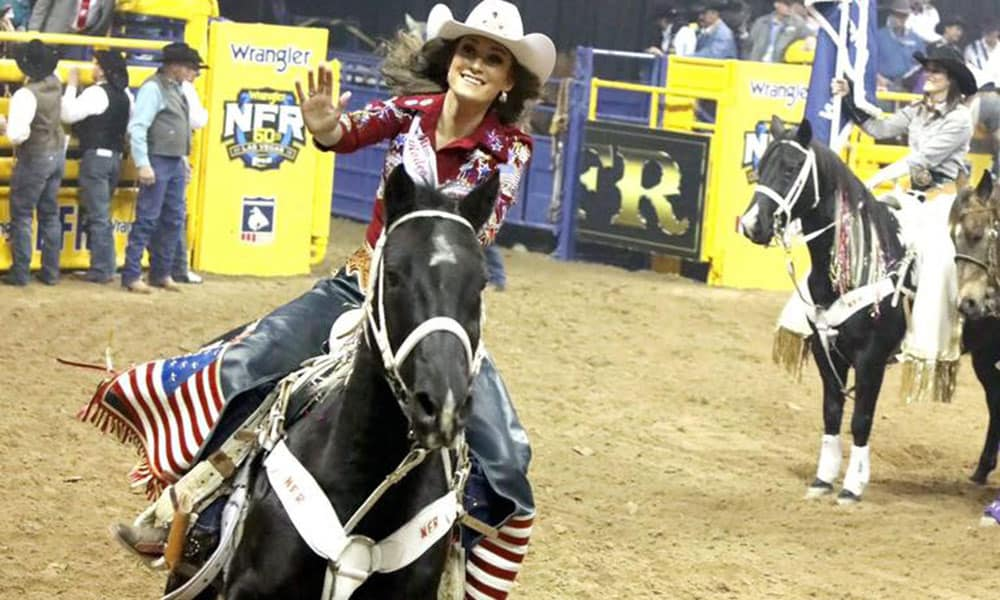 Taylor McNair Miss Rodeo America 2019 Cowgirl Magazine