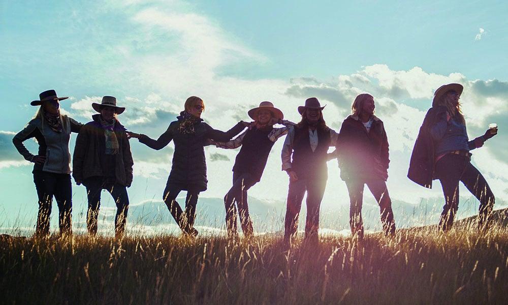 west girls field montana cowgirl magazine