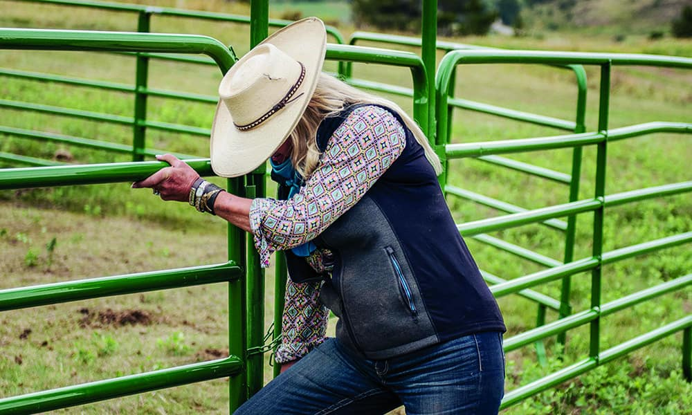 ranch owner jeanna gate montana camp cowgirl magazine