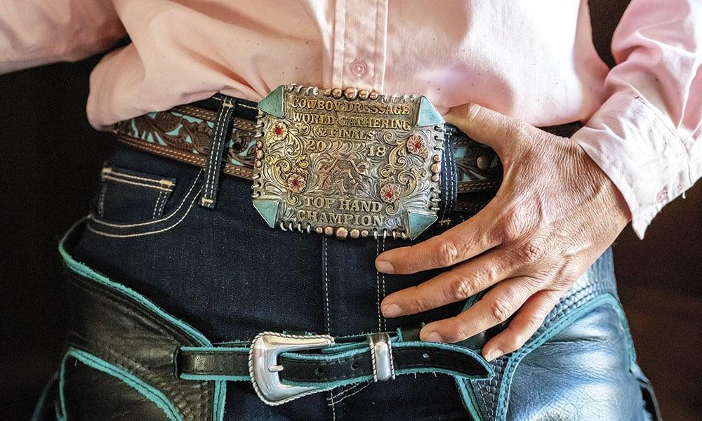 cowboy dressage horsemanship horse show competition cowgirl magazine