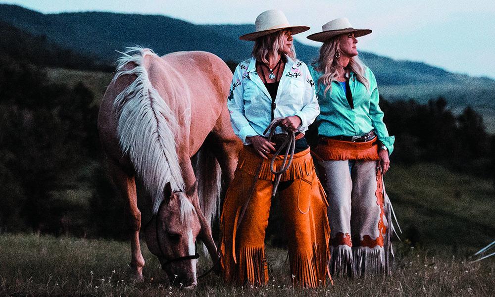 girls horse riding montana cowgirl magazine