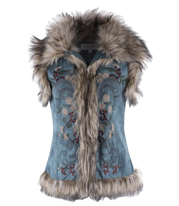winter clothing trends western fashion vest cowgirl magazine