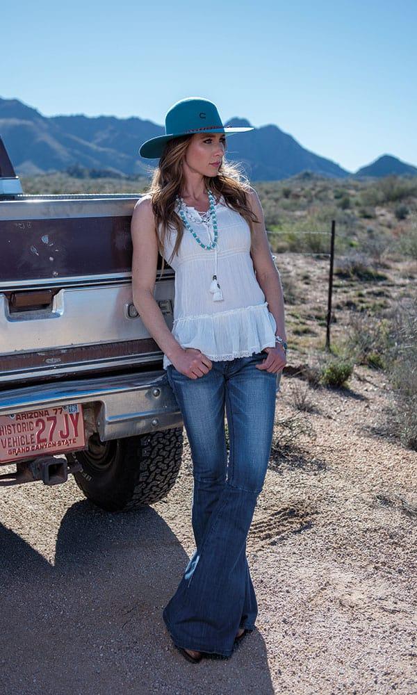 spring desert fashion truck cowgirl magazine