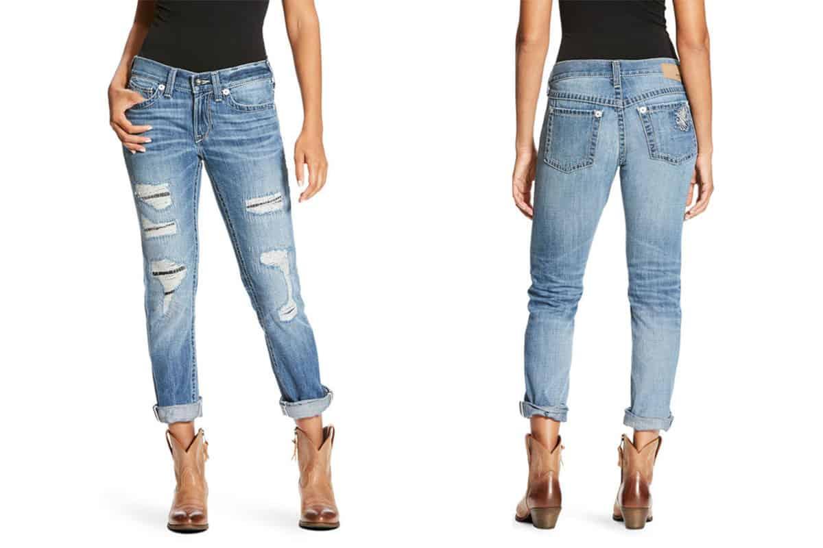 Ariat denim diary cowgirl magazine jeans jean