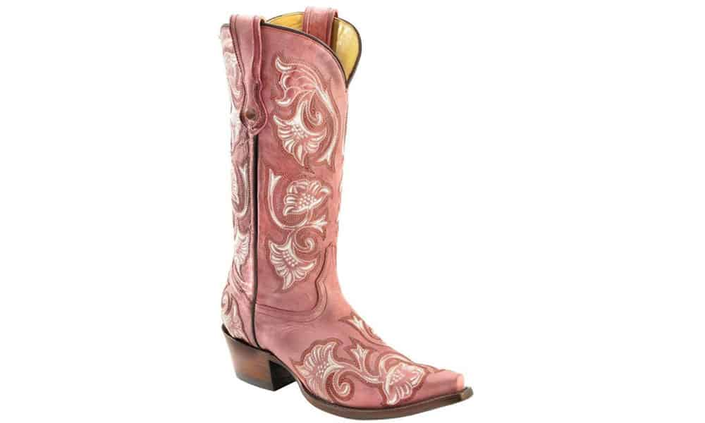 corral pink western boots cowgirl magazine