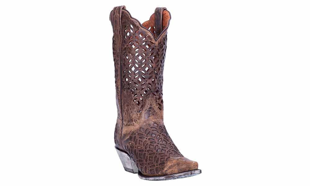 dan post peek a boo cutout boot cowgirl magazine