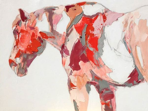 that red horse by melissa mason painting cowgirl magazine