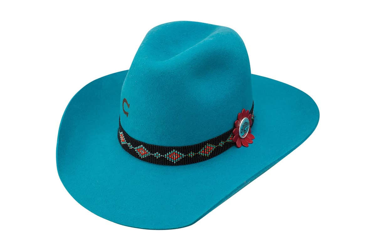 charlie 1 horse wild tribe hat cowgirl magazine