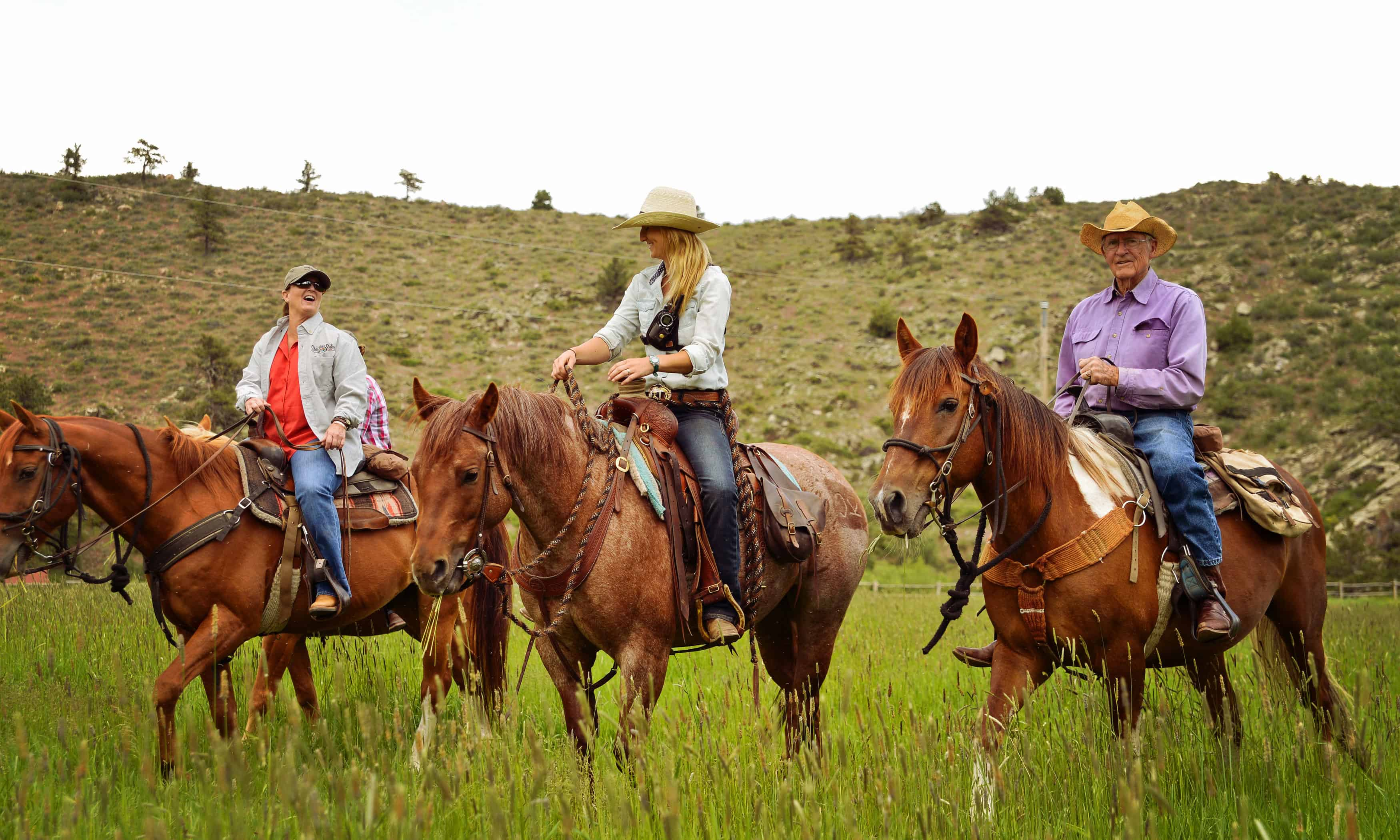 Cherokee park ranch dude ranch for cowgirl dream getawy