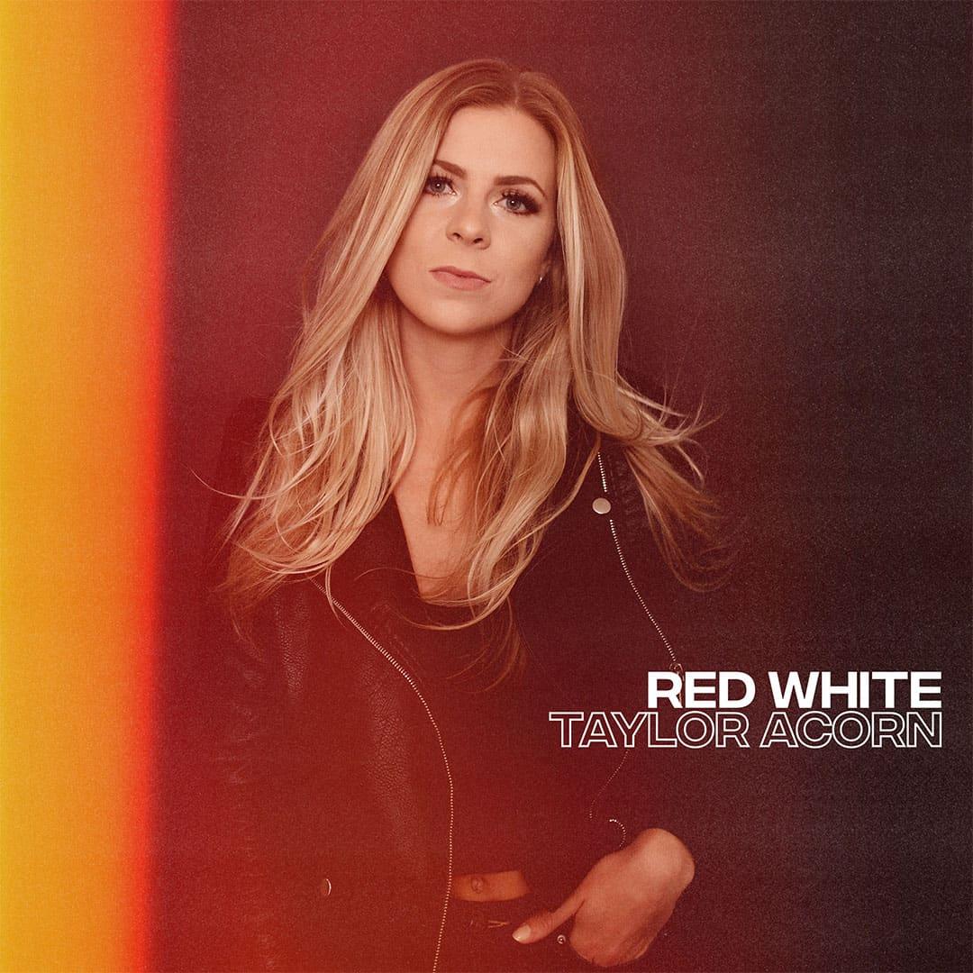 red white taylor acorn album cover art cowgirl magazine