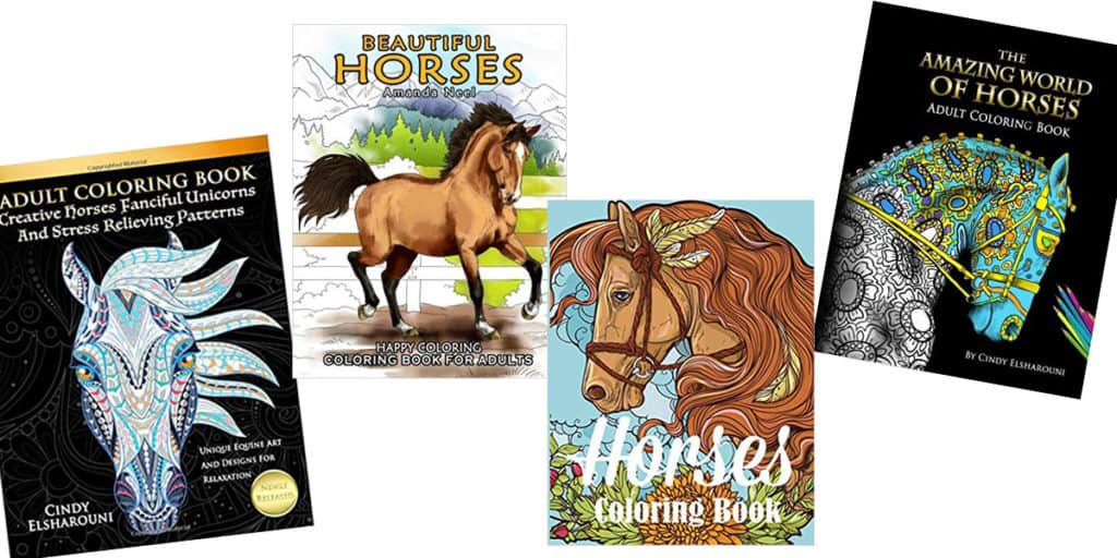 horse adult coloring books cowgirl magazine