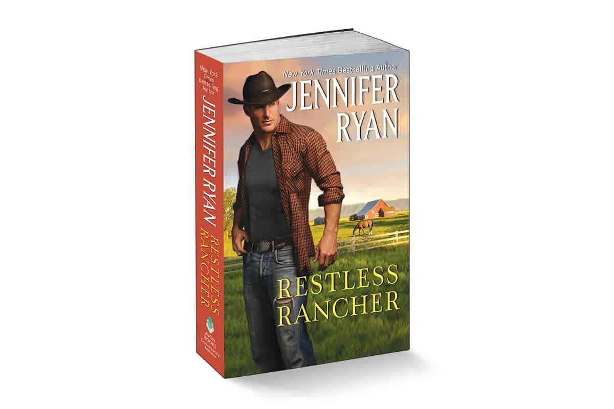 restless rancher book cover cowgirl magazine