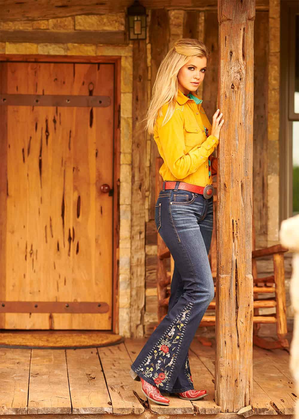 rock and roll cowgirl denim cowgirl magazine