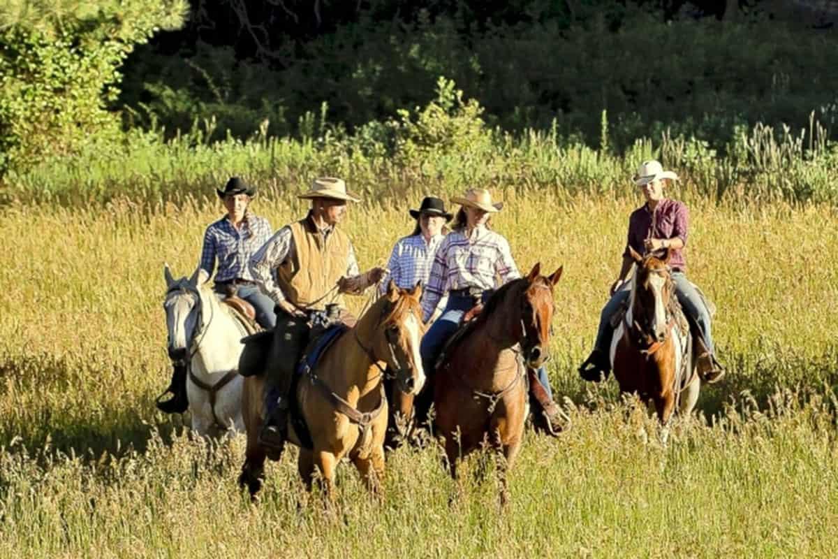 colorado trails guest ranch dude ranch association dra cowgirl magazine