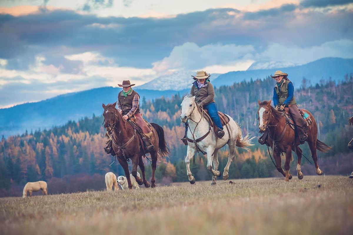 western pleasure guest ranch dude ranch association cowgirl magazine