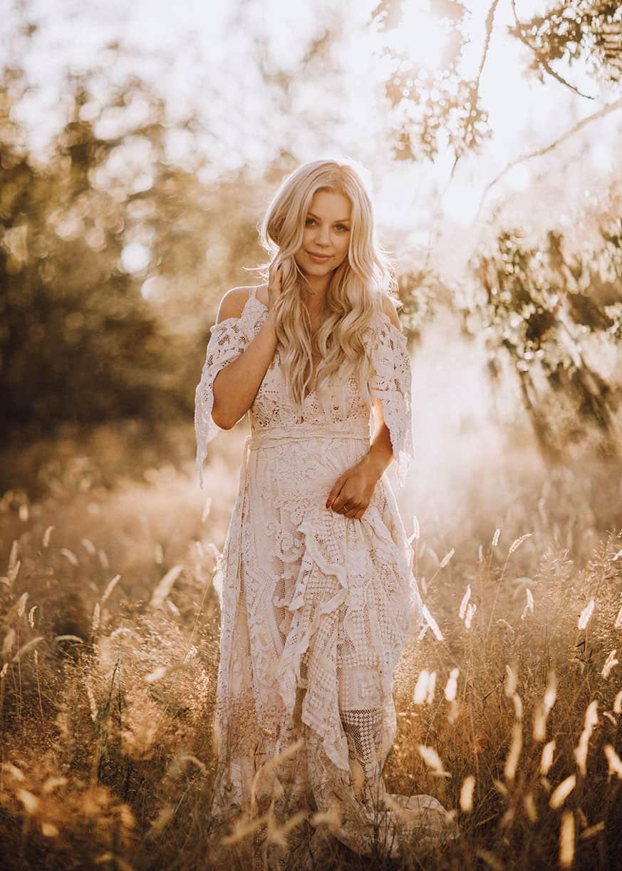 Reclamation Design Company Lace Wedding Dress Cowgirl Magazine