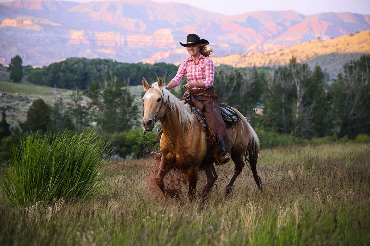 dude ranching in the summer cowgirl magazine