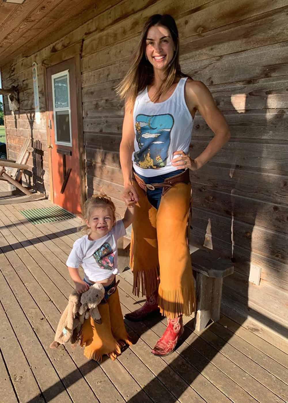 matching chinks cowgirl magazine