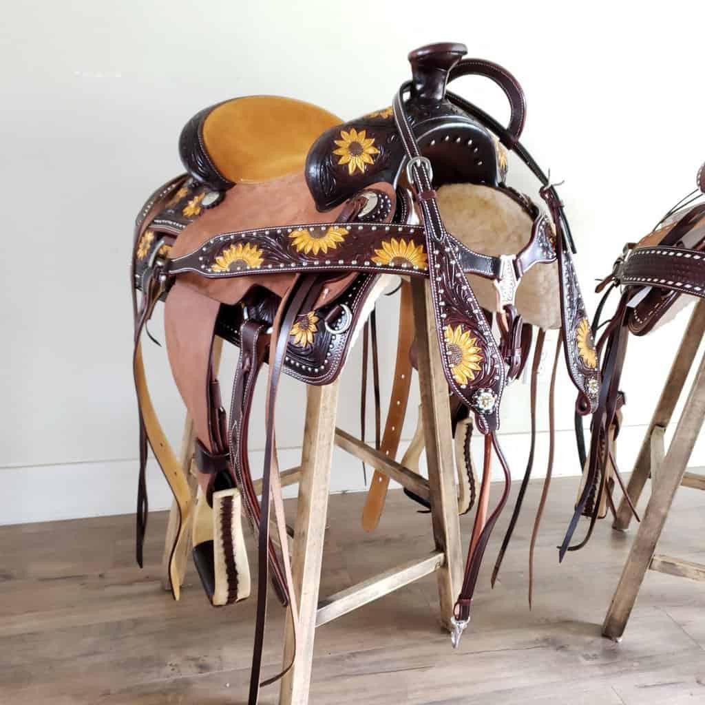 sunflower saddle cowgirl magazine