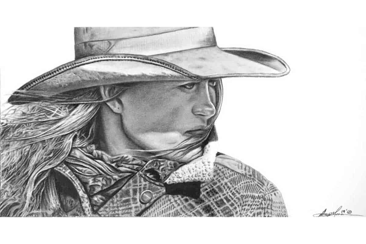 painting drawing home decor cowgirl magazine